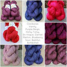 Plucky knitter yarn