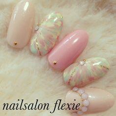 ピーコックネイル♡peacock nail