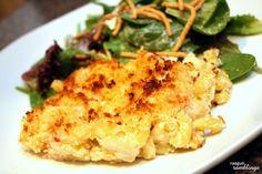 Rae Gun Ramblings: Seafood Mac and Cheese Recipe Cheese Recipes, Seafood Recipes, Dinner Recipes, Cooking Recipes, Dinner Ideas, Seafood Dishes, Cooking Ideas, Pasta Dishes, Meal Ideas