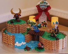 Skylanders - Trap team Cakes by Cecy Huezo .  www.delightfulcakesbycecy.com