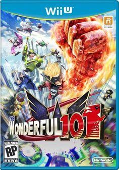 The Wonderful 101 Wii U cover - Platinum Games/Nintendo