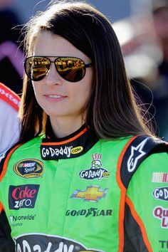 Danica Patrick.  NASCAR Driver.  Phoenix International Raceway.  03/03/2013 I would have love to be a race car driver!