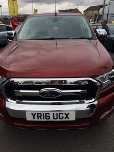 The Ford Ranger Limited #pickupleasing deal | One of the many cars and vans available to lease from www.vanlease.uk.com