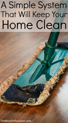 Does your house always feel messy, yet you feel like you are constantly cleaning? Follow these 6 simple steps to keep your home tidier without much effort!