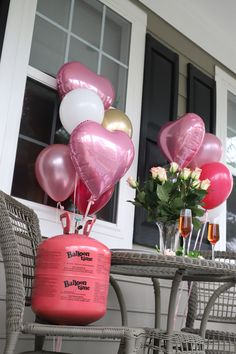Looking for a sweet way to celebrate your sweetie? 💞 We love this simple, balloon dinner for two! Where To Buy Balloons, Propane Tanks, Become A Distributor, Star Baby Showers, Sweetest Day, Best Part Of Me, Goodies, Valentines, Joy