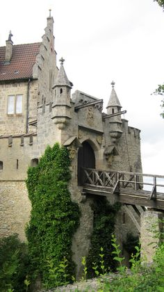 Drawbridge to Schloss Lichtenstein | Flickr - Photo Sharing!