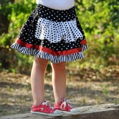 Apron Skirt Pattern by Thread Couture girls Downloadable PDF Sewing Patterns E Pattern to Sew DIY AllegroDigiPatterns and AllegroFabrics. Download now!
