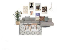 """Stue"" by christine-delmar on Polyvore featuring interior, interiors, interior design, home, home decor and interior decorating"