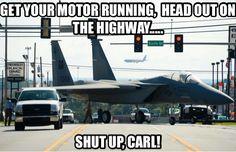 Shut up Carl!
