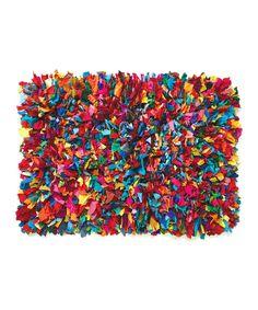 Look what I found on #zulily! Fiesta Shag Rug by Everything Doormats #zulilyfinds