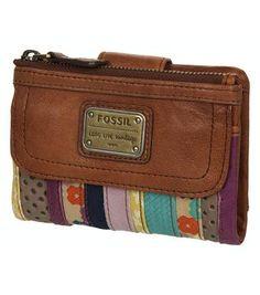 Fossil portemonnee.  Die wil ik wel voor moederdag.