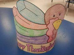 Thanksgiving Day Turkey Hat