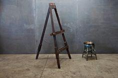 Vintage Eastlake Artist Painters Easel : Factory 20
