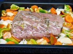 Lomo de cerdo al horno con salsa