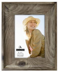 Wide Scoop Picture Frame
