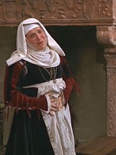 Photos of the Nurse's costume in Romeo and Juliet by Franco Zeffirelli.