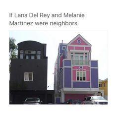 Se Lana Del Rey e Melanie fossem vizinhas 😂😂😂😂😂😂❤ Melanie Martinez House, Melanie Martinez Quotes, Cry Baby, Funny Memes, Hilarious, Marina And The Diamonds, Music Memes, Crazy People, Coldplay