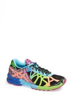 Holy cow, these are bright!  ASICS® 'GEL Noosa Tri 9' Tri Running Shoe (Women) | Nordstrom
