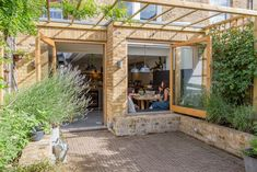 Outdoor Rooms, Outdoor Living, Norton House, Timber Pergola, House Extension Design, Outdoor Candles, Rear Extension, Contemporary Kitchen Design, Living Room Windows