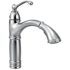 Moen 7295C Brantford One-Handle High Arc Pullout Kitchen Faucet, Chrome *** Learn more by visiting the image link. (This is an affiliate link) #KitchenBathFixtures