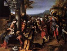 Adoration of the Magi, Correggio, 1516-18