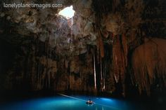 Cenote Azul from Lonely Planet