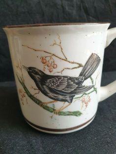 Vintage Sweden Ceramic mug hadmade