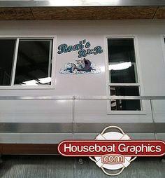 Houseboatgraphicsbeforeafter Graphics - Custom houseboat graphics