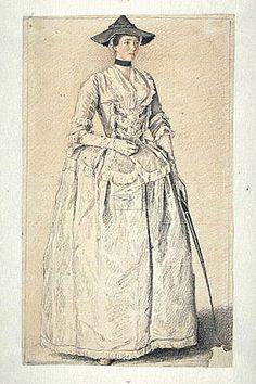 Madame Gaspard de Péleran by Jean-Etienne Liotard, 1738
