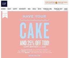 Традиционный кап-кейк со свечкой + 25 % скидки. Милая вкусняшка, создающая настроение, и хорошая скидка. Неплохой подарок. Лишь бы кап-кейк был свежим :)