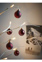 NEW Mini Baubles - Burgundy