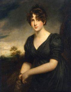 aquietsunday: Portrait of Miss Frances Vinicomber by John Opie
