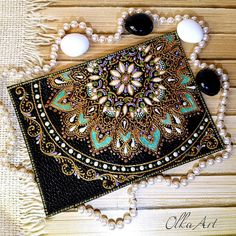 Mandala Design, Mandala Art, Circle Art, Moroccan Design, Stained Glass Patterns, Dot Painting, Casket, Bottle Art, Design Art