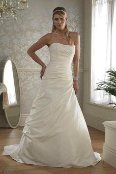 Alexia bridal Strapless,Tie Back Style W273