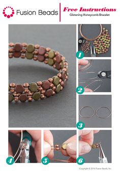 Love the mixed metal look of this Glistening Honeycomb bracelet. All you need to…