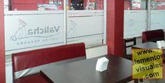 Valicha Restautante en San José, San José Valicha Cocina Peruana Vinyl Frost para Ventanas frontales de restaurante San Jose Costa Rica www.elementosvisuales.com tel. 2738-0112 wsp. 8703-9302 Costa Rica, Four Square, Tech Companies, Company Logo, Home Decor, Front Windows, San Jose, Restaurants, Decoration Home
