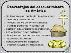 descubrimiento-de-america-tarjetas-13 - Imagenes Educativas Ap Spanish, Spanish Classroom, Christopher Columbus, Kids Education, Preschool Crafts, Social Studies, Puerto Rico, Literature, Homeschool