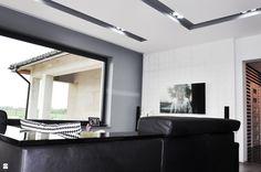 Pikowana ściana - zdjęcie od Am Design Studio projektowania wnętrz - Salon - Styl Nowoczesny - Am Design Studio projektowania wnętrz