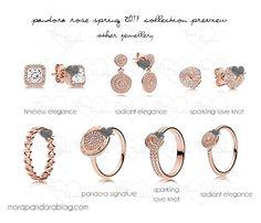 Pandora Rose Spring 2017 Jewellery Preview