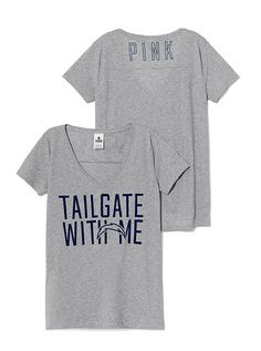 San Diego Chargers V-neck Tee PINK