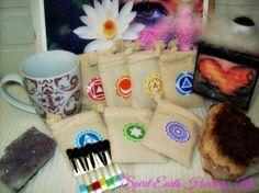Complete Seven Chakra Spirit Earth Healing Kit