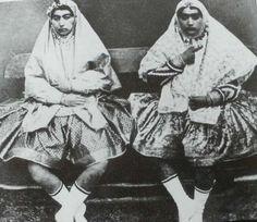 Nasser ad-Din Shah's  wifes.