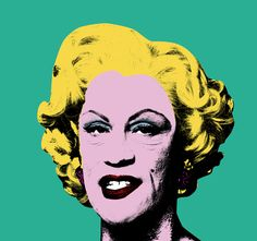 """Sandro Miller & John Malkovich reacreat Andy Warhol / Green Marilyn (1962), 2014 for the """"Malkovich, Malkovich, Malkovich - Homage To Photographic Masters"""" Exhibit"""