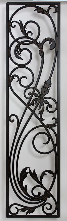 Tableaux® Faux Iron Designer Grilles hand craft decorative folding screens, room dividers, and privacy partitions for commercial and residential interiors. | FREE samples available on Tableaux.com (some restrictions apply).