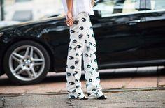 | Milan Fashion Week Spring 2014 Street Style in W...