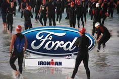 Swim start Ironman Florida
