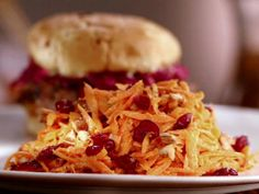 Get Carrot Cranberry Salad Recipe from Food Network