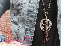 #DIY #JewelryMaking with #tassels and Jesse James Beads