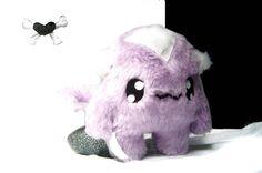 Fluse :Kawaii Plush Monster Fox light purple