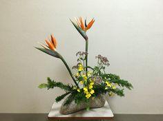 Sougetsu flower arrangement